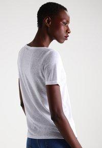 Object - OBJTESSI SLUB - Basic T-shirt - white - 2