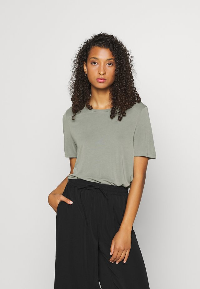 OBJANNIE SEASONAL - Basic T-shirt - mint