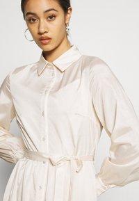 Object - OBJVIVA DRESS - Abito a camicia - gardenia - 4
