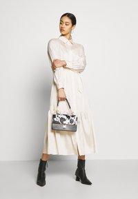 Object - OBJVIVA DRESS - Abito a camicia - gardenia - 1