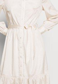 Object - OBJVIVA DRESS - Abito a camicia - gardenia - 6