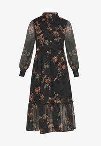 Object - OBJLAKE LONG DRESS - Maxi šaty - black - 3