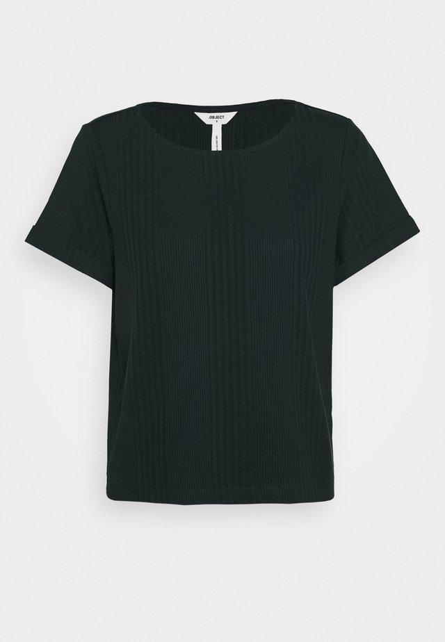 OBJCELIA - T-Shirt print - scarab