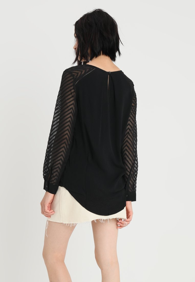 Object OBJZOE - Blouse - black s0aZF