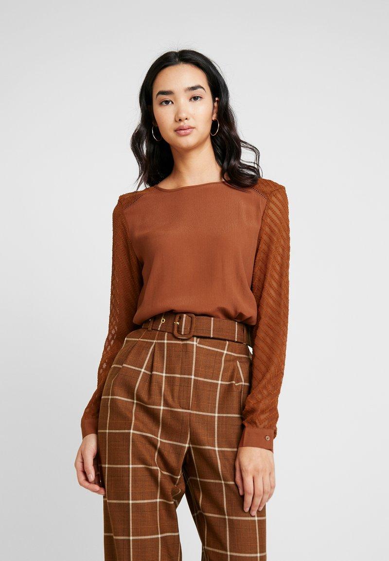 Object - OBJZOE - Blouse - brown patina