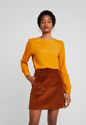 OBJZOE - Blouse - mustard yellow