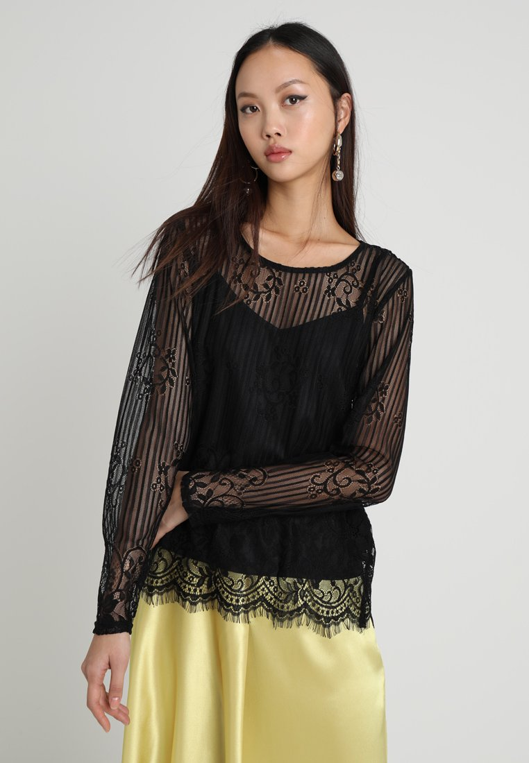 Object - OBJMELLY - Bluse - black