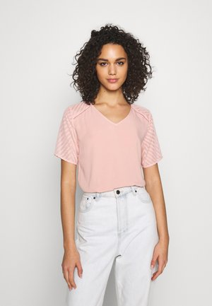 OBJZOE - Print T-shirt - misty rose