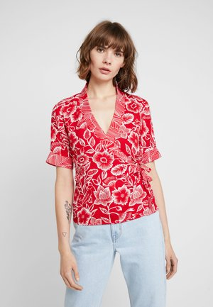 Blouse - high risk red