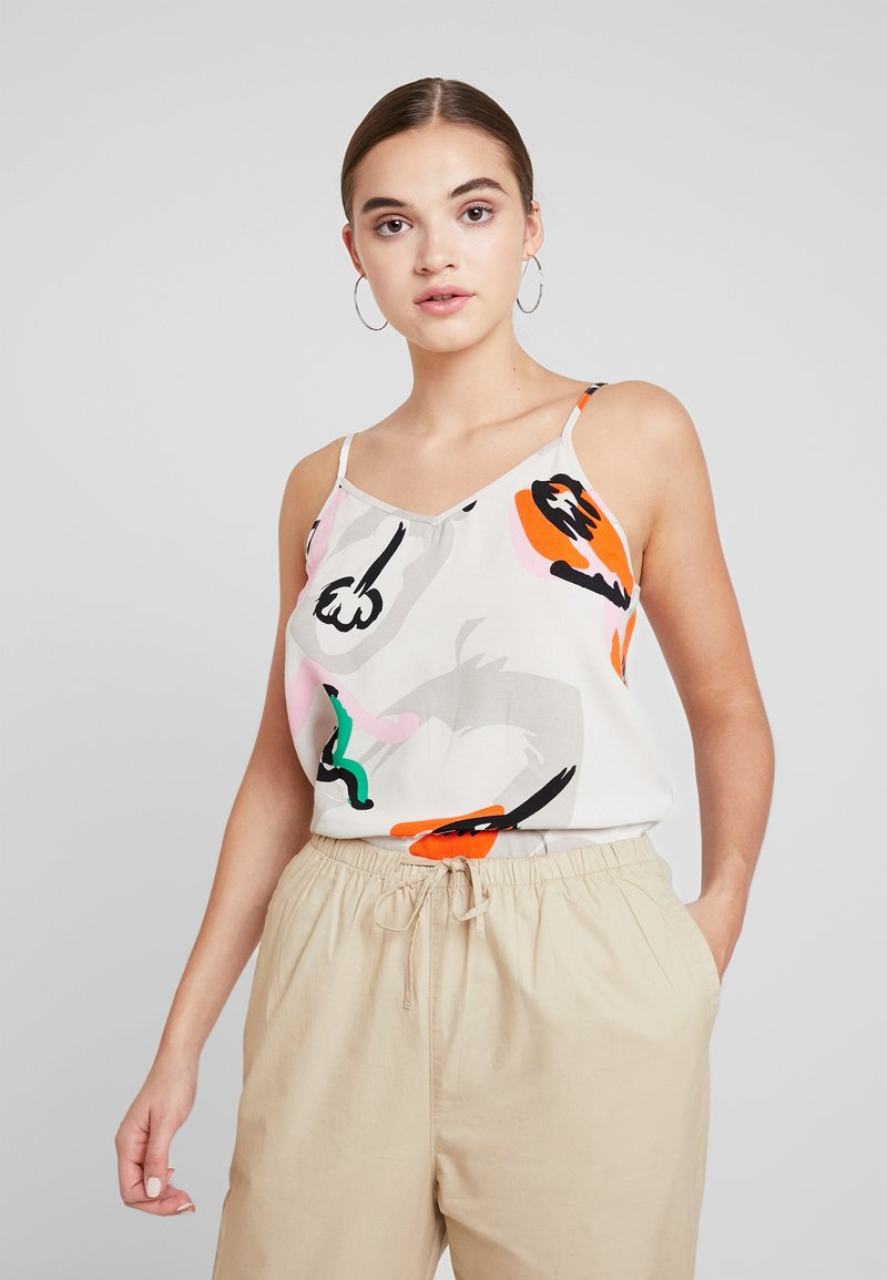 Object - OBJZENDAYA BAY - Top - off white/multi coloured