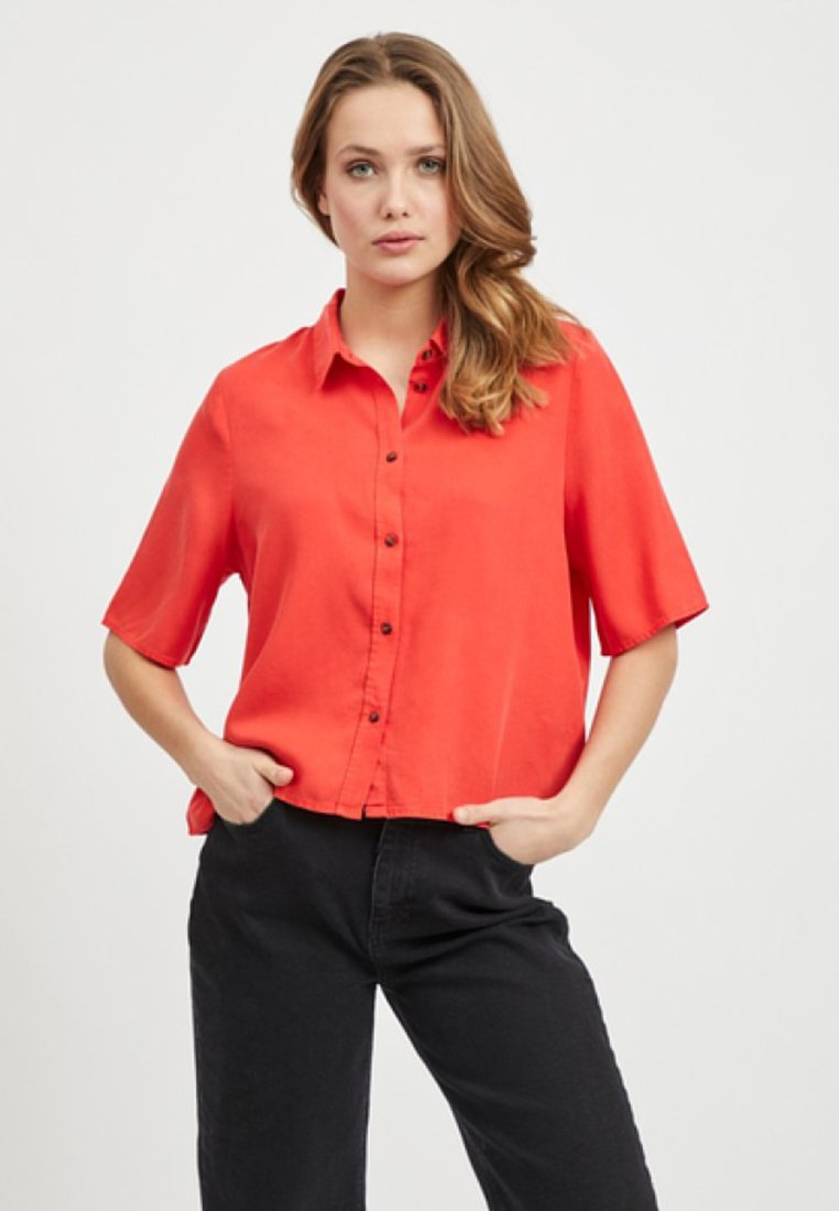 Object - Camisa - poppy red