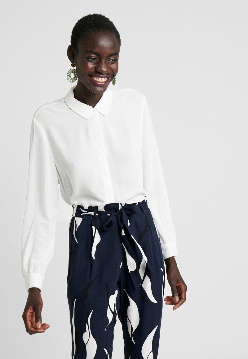 Object - OBJBAY  - Button-down blouse - white