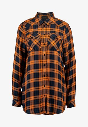 Blouse - buckthorn brown/checked