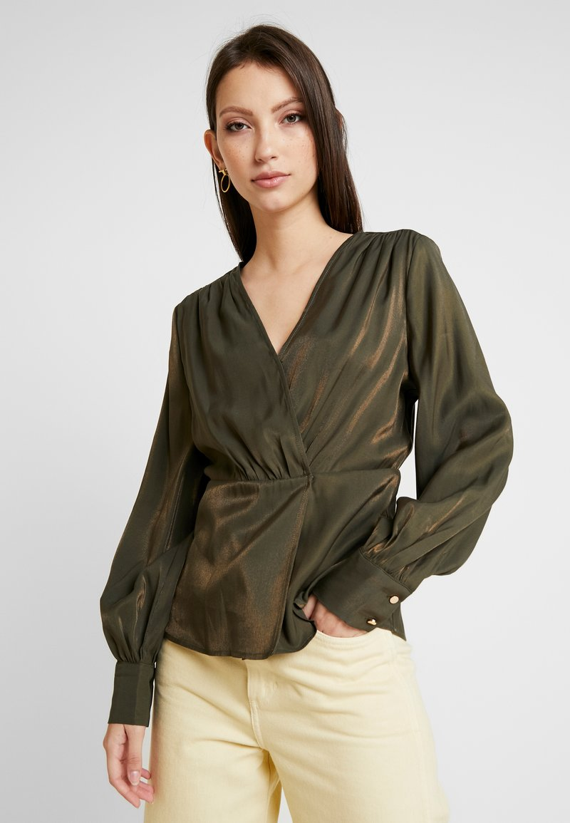 Object - Blusa - forest night