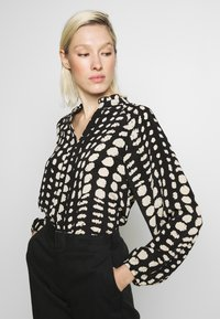 Object - OBJGIA - Blouse - black/off-white - 4