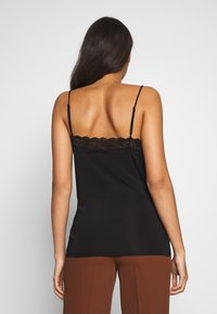 Object - OBJLEENA NEW LACE SINGLET NOOS - Top - black - 2