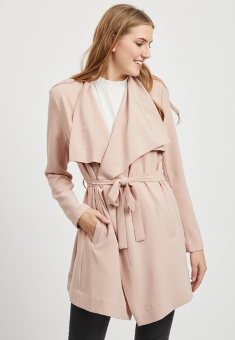 Object - Annlee - Trenchcoat - adobe rose
