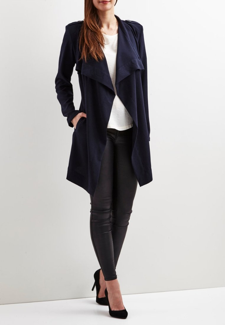 Object - Annlee - Trenchcoat - Blau