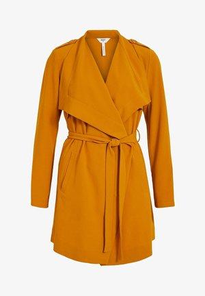 OBJANNLEE - Short coat - buckthorn brown