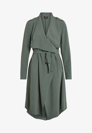 OBJANNLEE  - Trenchcoat - dark green