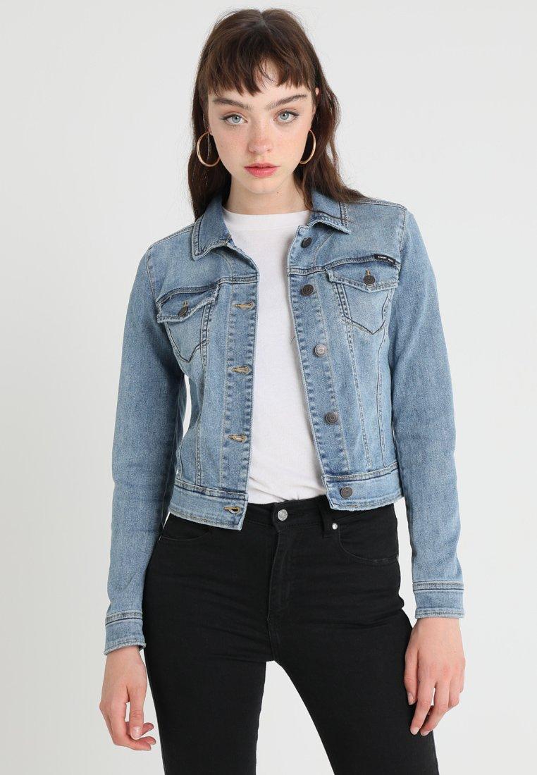 Object - OBJWIN NEW HER JACKET  - Denim jacket - medium blue denim