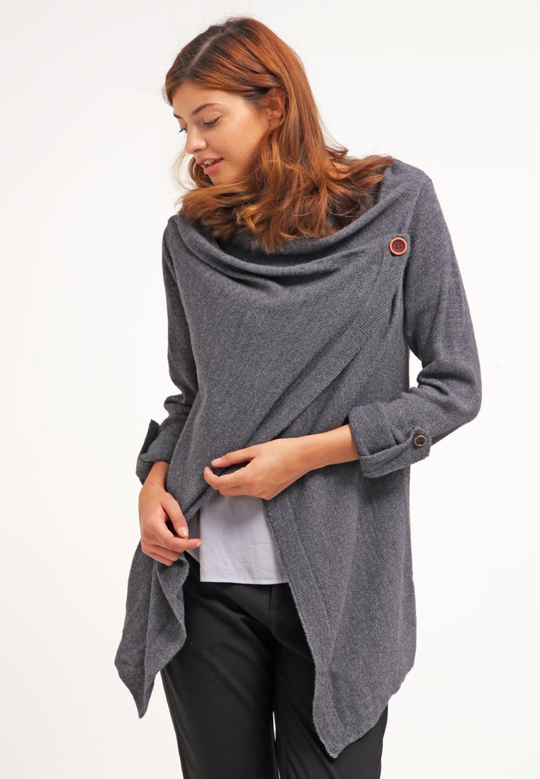 Object - OBJDEANNA - Cardigan - medium grey melange