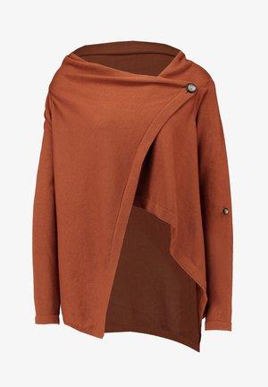 Kardigan - brown patina