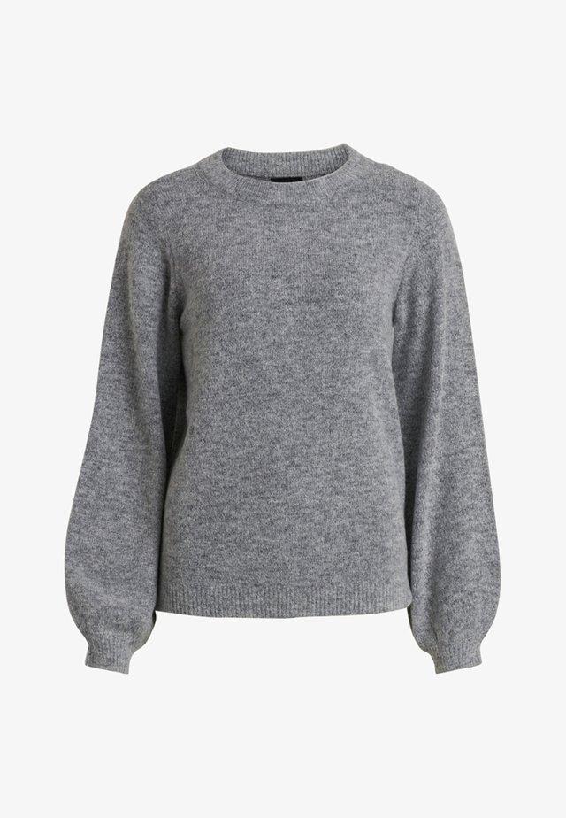 Strikpullover /Striktrøjer - light grey