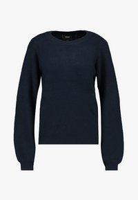 Object - Pullover - mottled dark blue - 4