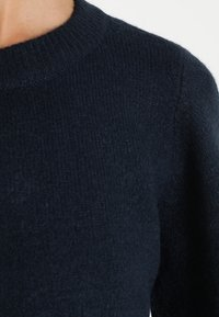 Object - Sweter - mottled dark blue - 5