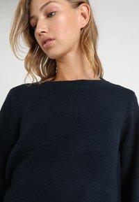 Object - Sweter - mottled dark blue - 3