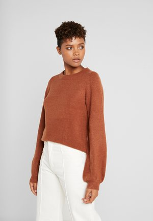 Pullover - brown patina