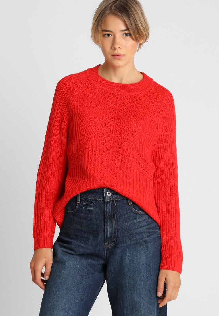 Object - OBJMARYGOLD  - Strickpullover - fiery red
