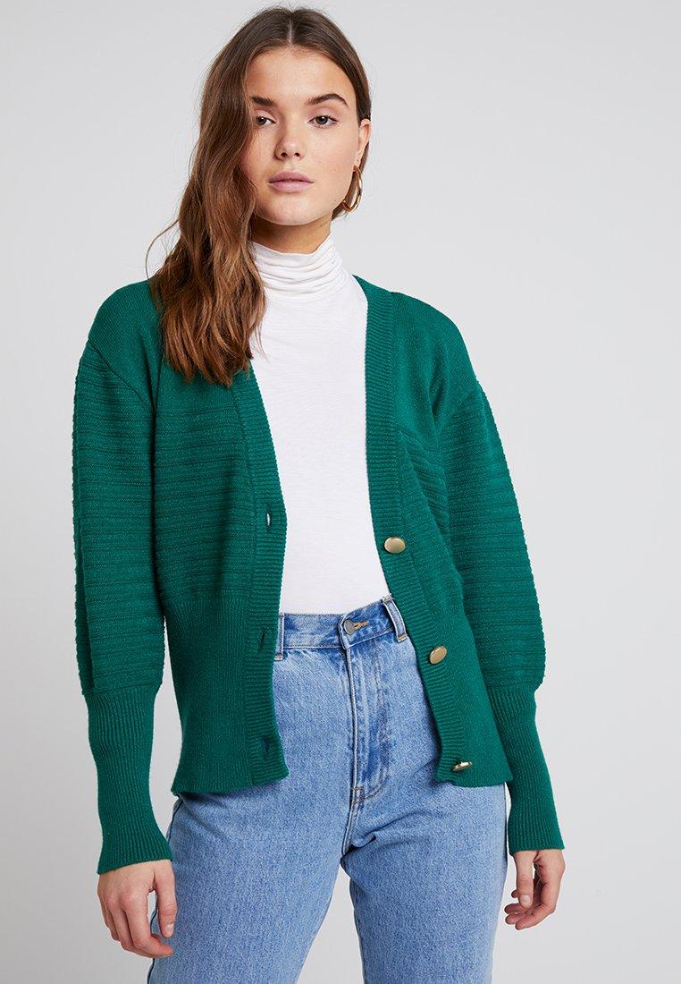 Object - OBJYARA CARDIGAN - Cardigan - ultramarine green