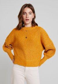 Object - Pullover - buckthorn brown/melange - 0