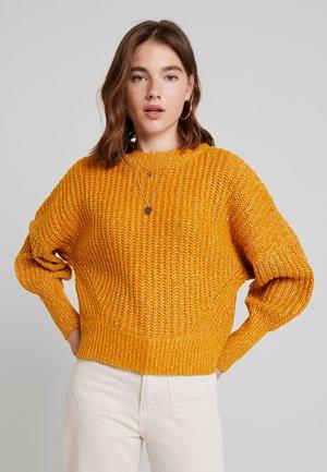 Pullover - buckthorn brown/melange