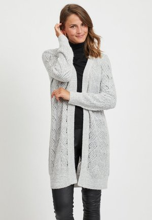 OBJNOVA STELLA  - Cardigan - light grey melange