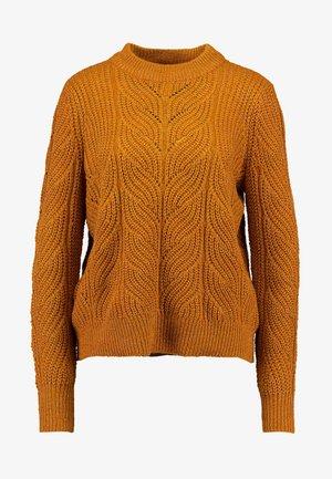 OBJNOVA STELLA - Pullover - buckthorn brown/melange
