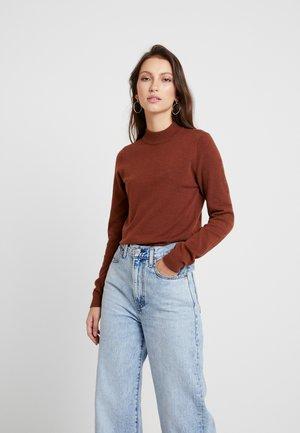 Sweter - brown patina