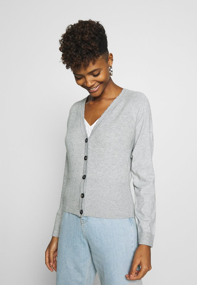 OBJBETTY - Vest - light grey melange