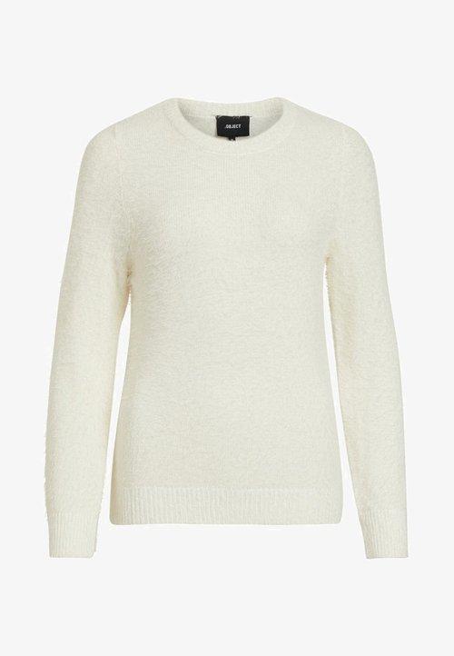 tani Object Sweter - offwhite Odzież Damska XVUV-VA5