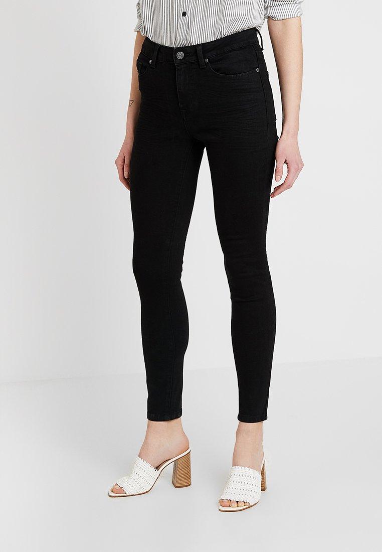 Object - OBJSKINNYKATIE  - Skinny džíny - black