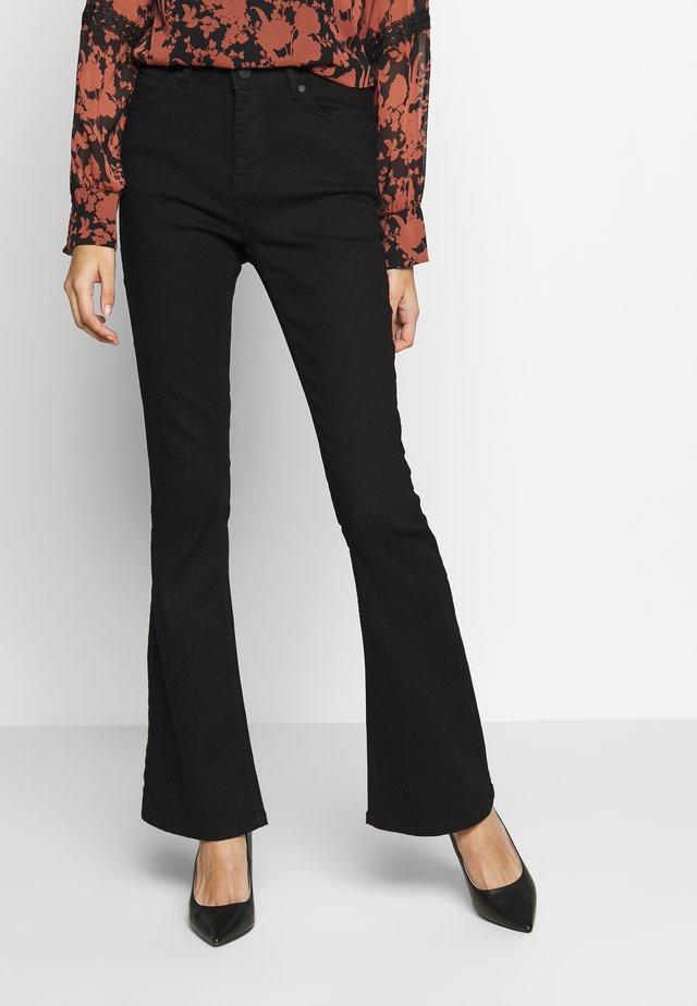 Jeans a zampa - black