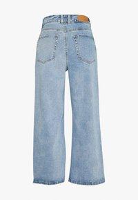 Object - OBJMARINA DENIM  - Flared Jeans - light blue denim - 1