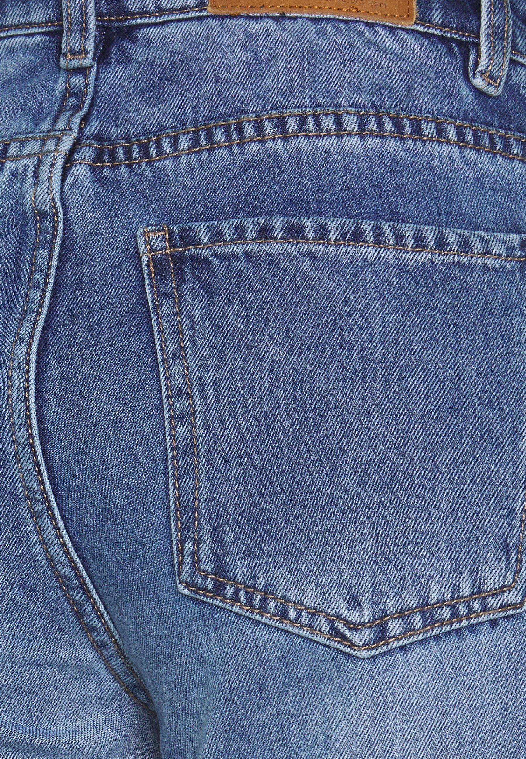Object OBJNORA - Jeansy Straight Leg - light blue denim