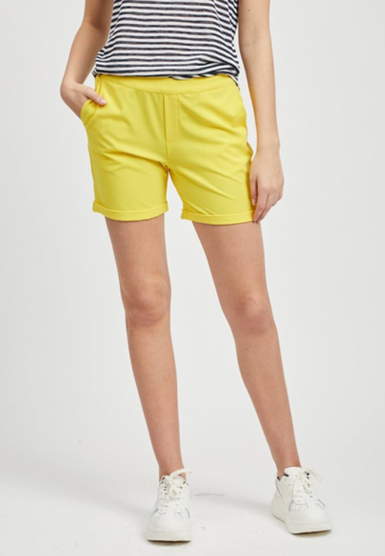 Object - OBJCECILIE  - Shorts - yellow