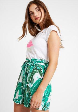 Shorts - gardenia/palm gardenia
