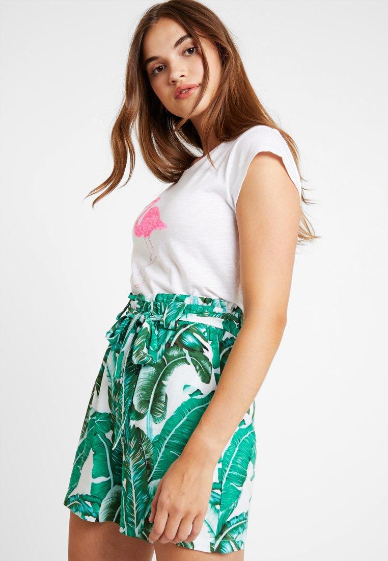 Object - OBJPALMINA - Shorts - gardenia/palm gardenia