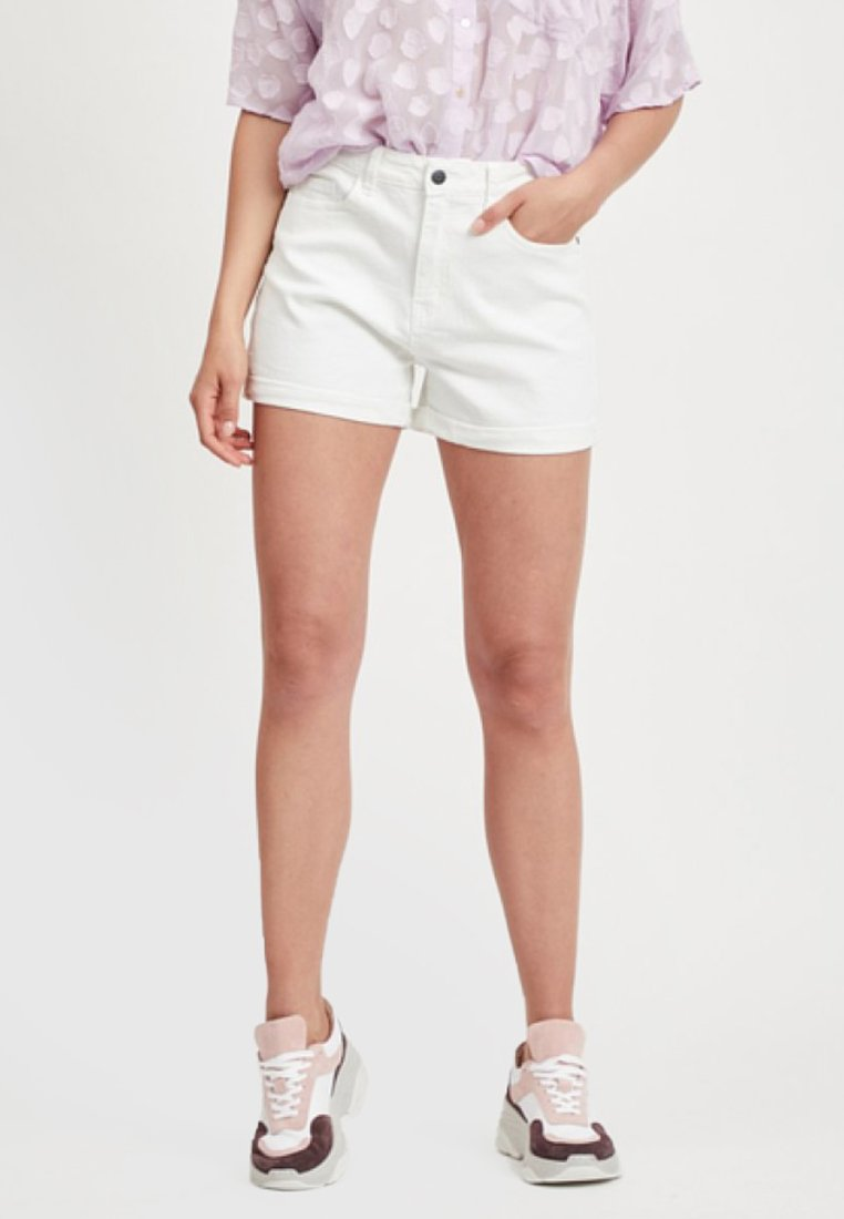 Object - Denim shorts - gardenia