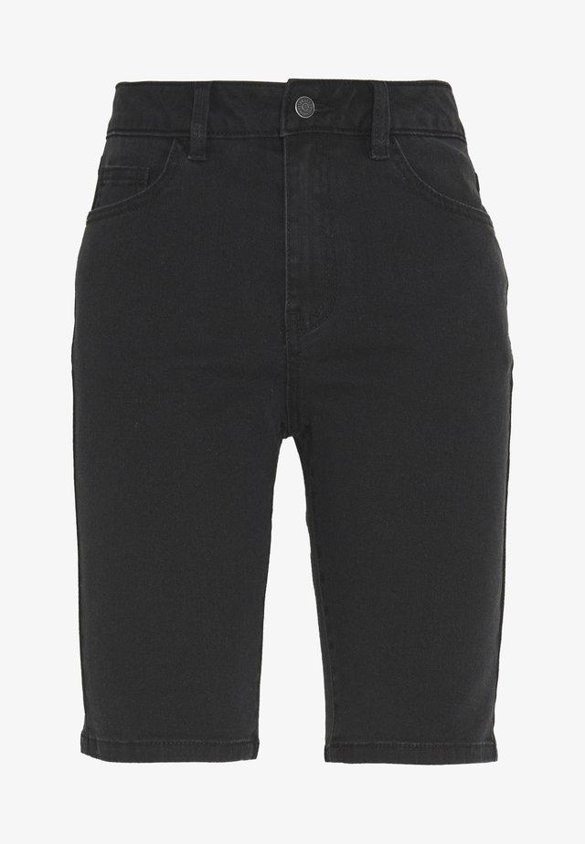 OBJMARINA  - Denim shorts - black